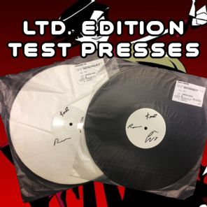 Savlonic  Ultra Rare Signed Red Vinyl Test Presses